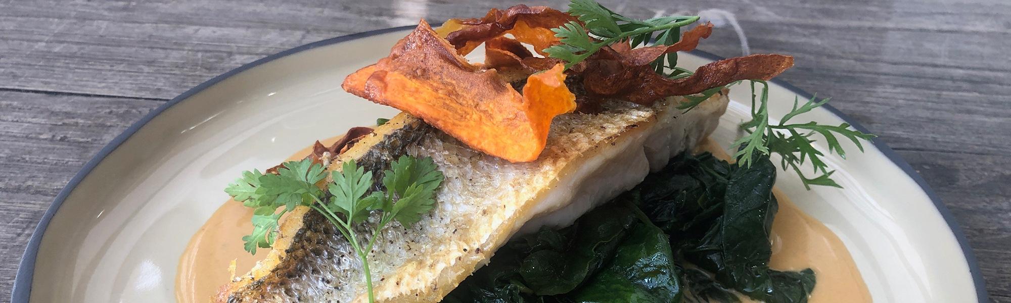 Les Q Salés - plat de poisson