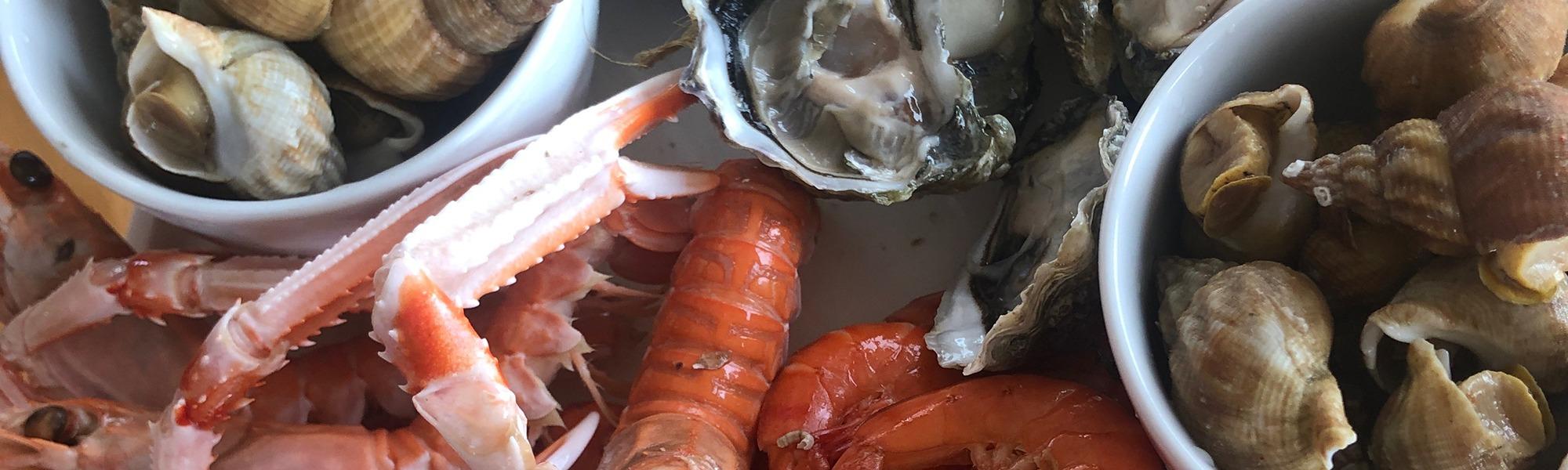Les Q Salés - des Crustacés